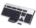 HP 2.4GHz Wireless Keyboard and Mouse